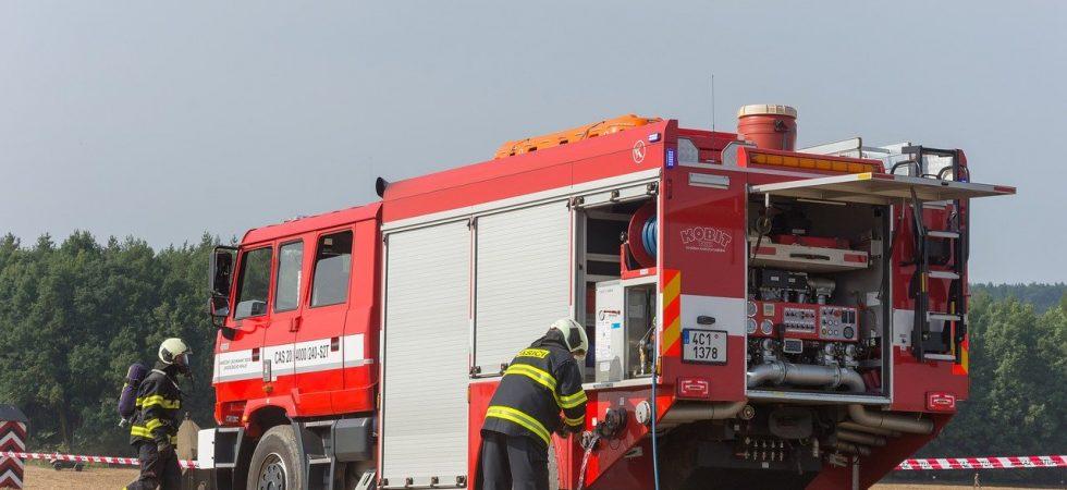 straż pożarna akcja